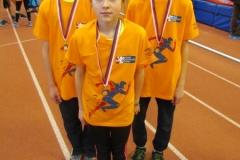 medailisté - Vojta, Lucka a Hynek